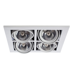 Встраиваемый светильник Arte Lamp Cardani medio A5930PL-4WH