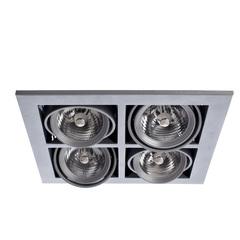 Встраиваемый светильник Arte Lamp Cardani medio A5930PL-4SI