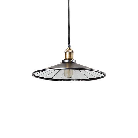 Светильник 20th c. Factory filament черный 36 см